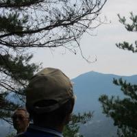 4 白木山~上三田(889m:安佐北区)縦走登山  休憩場所に