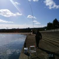 釣り後、つり宿