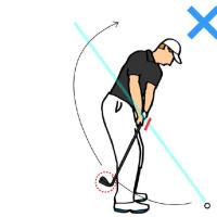 課題が尽きないゴルフ たまには練習せねば・・・