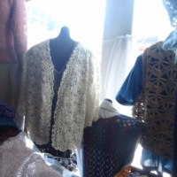 カスパリー編みの応用を研究できるなんて幸せ~。