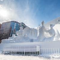 2017さっぽろ雪まつり 大雪像を見に行ってきました(その1)