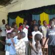 子どもたちの喜びの歌声