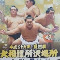 大相撲所沢場所 8月26日 at市民体育館 チケット発売は5月13日から