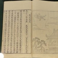 ミュージアム巡り 古文書 明状元図考 呉寛