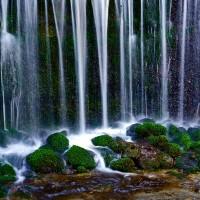 長野県軽井沢・白糸の滝