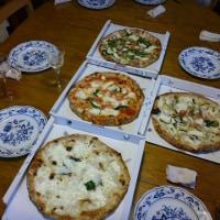忘れてた先日のピザパーティ。いつも通りピザ三昧!