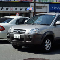 Hyundai Tucson (Hyundai JM) 2004- 2004年に登場した初代のヒュンダイ ツーソン(日本名 ヒュンダイ JM)