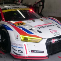 SUPER GT 富士テスト
