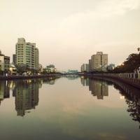 台南運河から