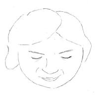 12月10日のチョコット似顔絵