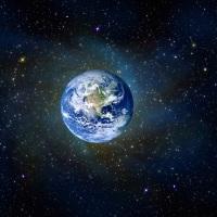 詩歌(16)漆黒の宇宙(そら)に輝く青く瑞々しきわが星!