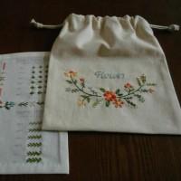 フェリシモ 刺繍きほんのき3回目完成。