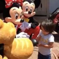 【動画あり】ミッキー&ミニーに手話で話しかけられた耳の不自由な少年 / その喜びの反応が可愛らしすぎると話題に(グノシー)