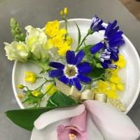 うちのオフィスの専属フローリスト A special florist of our office