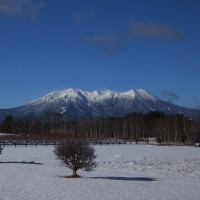 16年12/8~雪の開田高原
