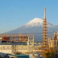寒気の中、雄大な富士に再会