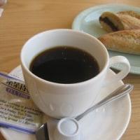 パン屋さんで、コーヒータイム