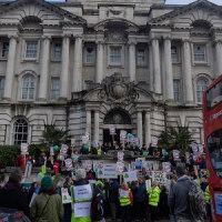 自然破壊の開発反対!和やかで楽しそうで騒々しい週末のデモ