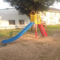 公園の遊具が新しくなりました