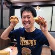 【大阪●難波】「ファーストキッチン・ウェンディーズ 難波戎橋店」のなんばベーコンエッグバーガーほか