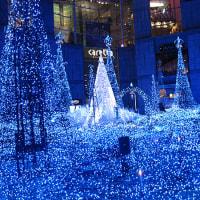 クリスマスイルミネーション2016(9) カレッタ汐留