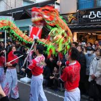 横浜中華街へ春節パレードを見に行った。(その2)