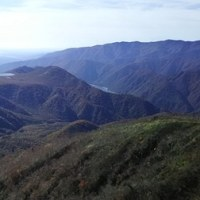 流石山(1813m)へ