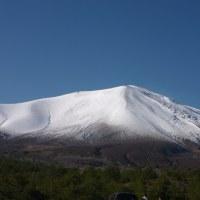 浅間山も雪化粧!!