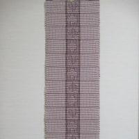 斜線織りでトランプ柄