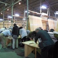 兵庫県より北山杉研修・お箸づくり体験にお越しいただきました。
