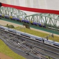 本日午前10時よりギャザ二階に於いて第16回鉄道模型走行会が始まります。