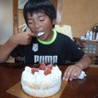 龍之介12才誕生日
