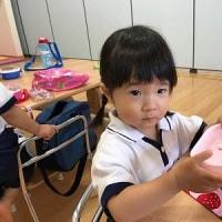 エンジェル わかば☆ひよこ カタツムリ制作&音楽遊び