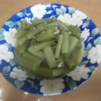 """北海道産野生""""伽羅蕗""""(きゃらぶき)風煮の味"""