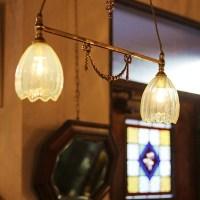 ヴァセリンガラス・レアな照明