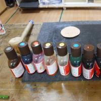 革細工のコースター
