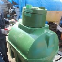 あまり日本にはない地下埋設型雨水タンク500L 出荷 スロベニア製