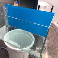 中古コトブキレグラス900×450×450ガラスオーバーフロー水槽