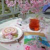 桜の花の紅茶