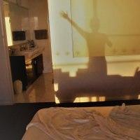 夜明けの寝室
