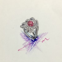 Customers order  pink diamond&diamond