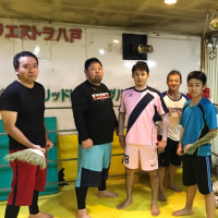 10/25夜のボクシングクラスの風景