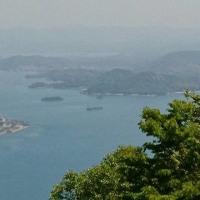 瀬戸内海国立公園 竜王山への2車線道が開通。