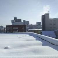寒い朝 マイナス19度