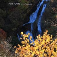 霧降の滝・秋