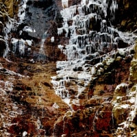 百間の滝  氷瀑 その2