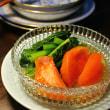 トマトと小松菜の出汁びたし