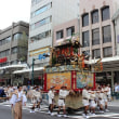 祇園祭(山鉾巡行)を人気スポットで撮って来ました(友人投稿)