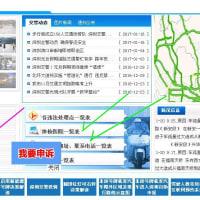 2017年1月 中国シンセン市で自動車免許の更新