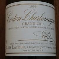 Corton Charlemagne 1999 Louis Latour Grand Cru